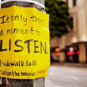 sidewalk talk photo